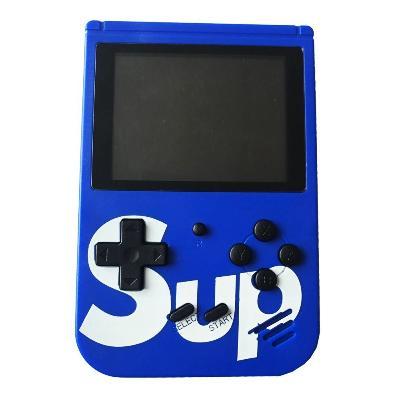 Купить Игровая приставка SUP Gamebox Plus 400 в 1, синий, Электронные игрушки