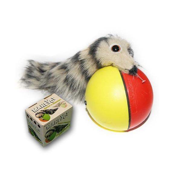 Купить Игрушка - Мангуст бегающий за шариком, Электронные игрушки