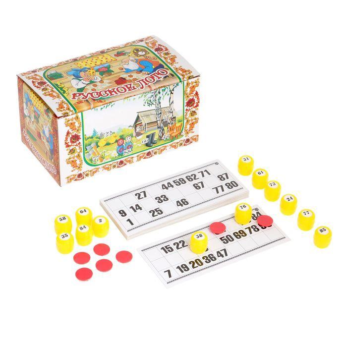 Лото классическоеНастольные игры<br>Лото классическое – это игра, которое совершенно несправедливо забыта. Если вы хотите вспомнить свое детство, проводить больше времени со своей семьей и наслаждаться развлечениями, то обязательно обратите внимание на лото. Цена в интернет магазине Мелеон приятно вас удивит!<br>