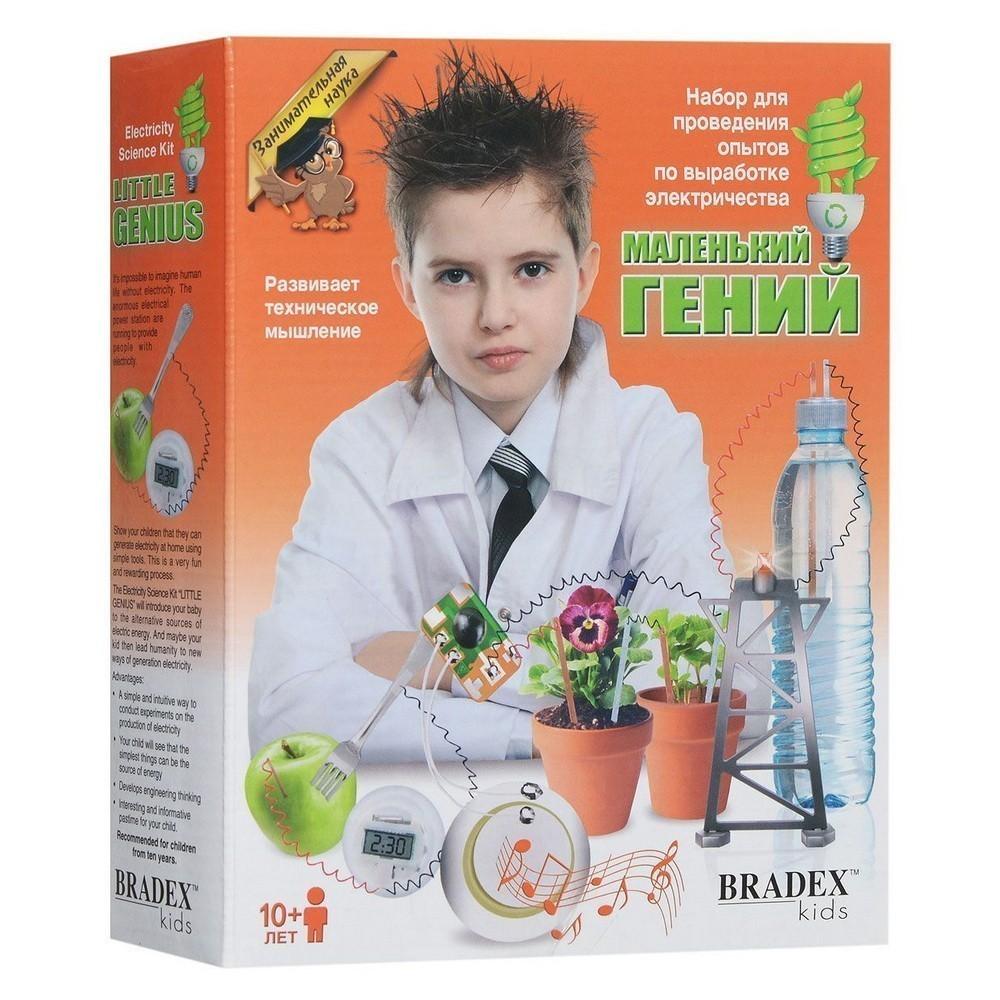 Купить Набор для проведения опытов по выработке электричества - Маленький гений, Развивающие игрушки