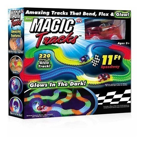 Конструктор Magic Tracks, 220 деталей
