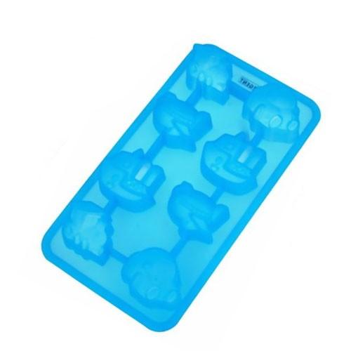 Силиконовая форма для льда «Путешествие» Regent InoxДля льда и мороженого<br>Корабли, самолеты, пароходы и поезда - все виды транспорта изо льда. Взрослым и детям больше нравится лед интересных форм, а не скучные кубики. Добавьте в корзину эту форму!<br>