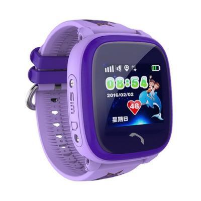 Умные детские часы smart baby watch df25g (gw400s), фиолетовый