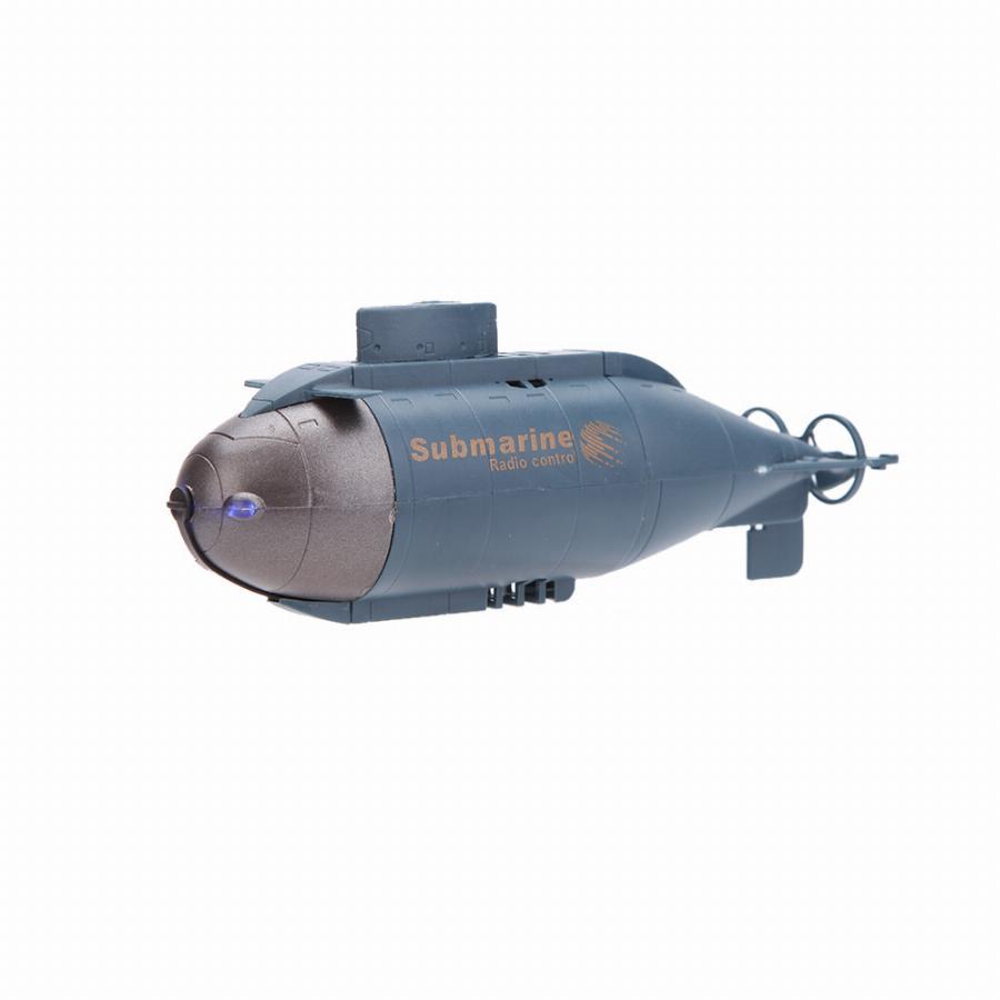 Подводная лодка на радиоуправлении, голубой