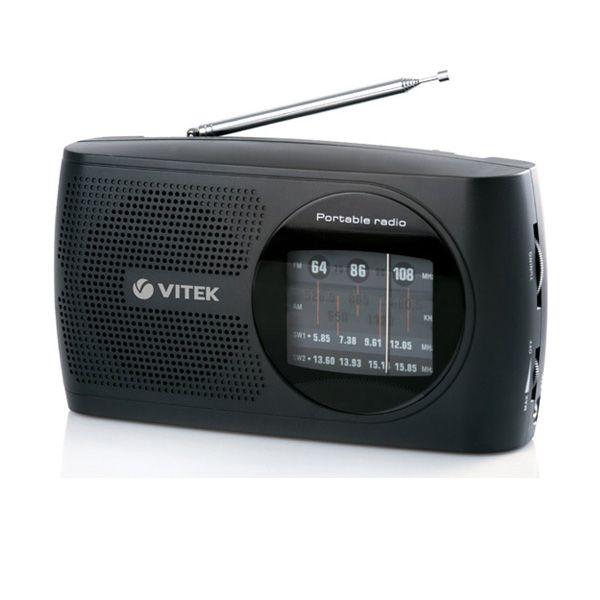 Радиоприемник Vitek VT-3587 BKРадиоприемники<br>Слушать любимую радиостанцию вы будете с удовольствием с радиоприемником VT-3587 BK. Небольшие размеры этого стильного устройства позволят вам установить его в любом месте. Удобный поиск любимой радиоволны даст шанс всего за несколько секунд настроиться на необходимую частоту. Наличие разъема для наушников расширяет возможности радиоприемника, ведь вы не будете мешать окружающим, когда захотите послушать музыкальные композиции или радиопередачи.<br>