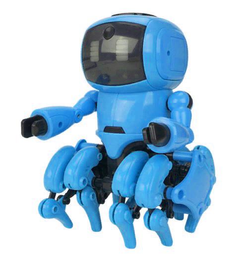 Купить Робот-конструктор The Little 8, голубой, Конструкторы