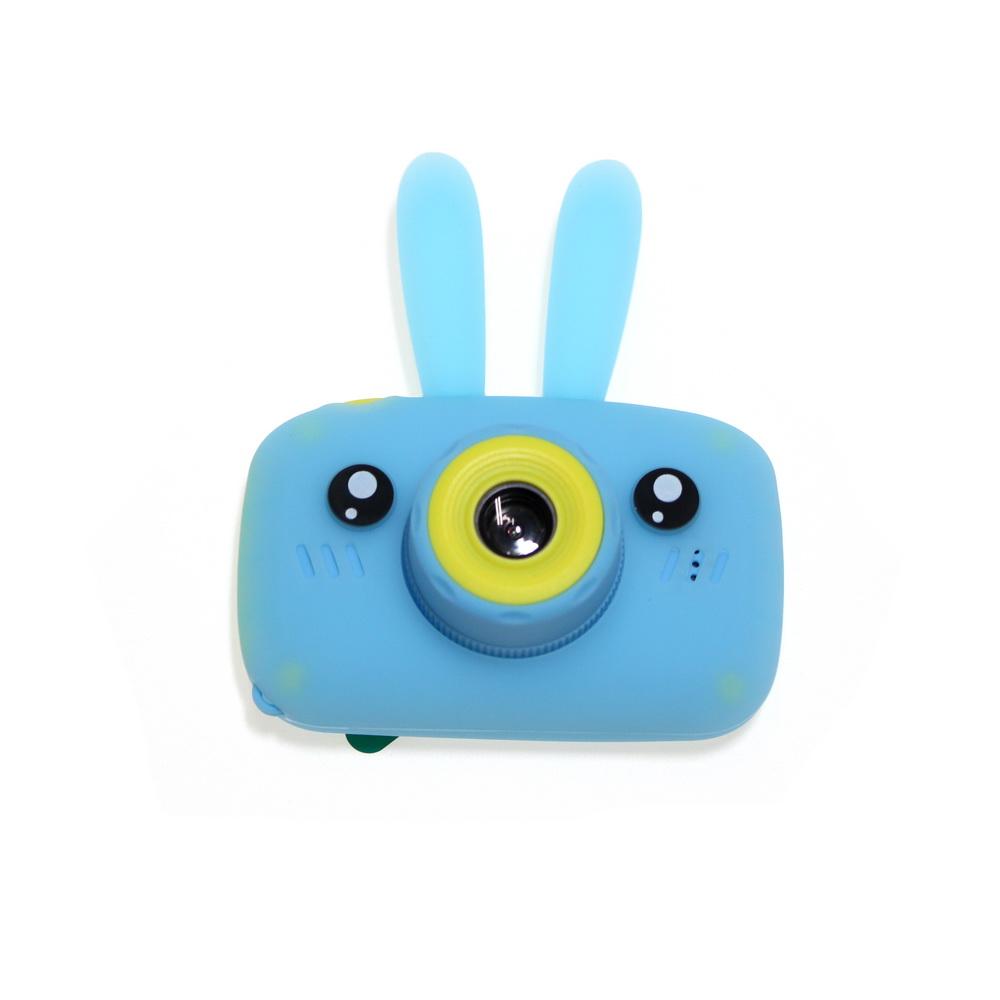 Купить Детский фотоаппарат Зайцы Kids fun camera, голубой, Электронные игрушки