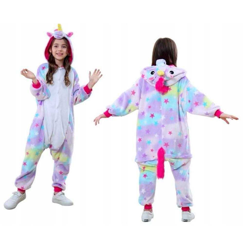 Пижама кигуруми Звездный единорог, детский, 90-100 см
