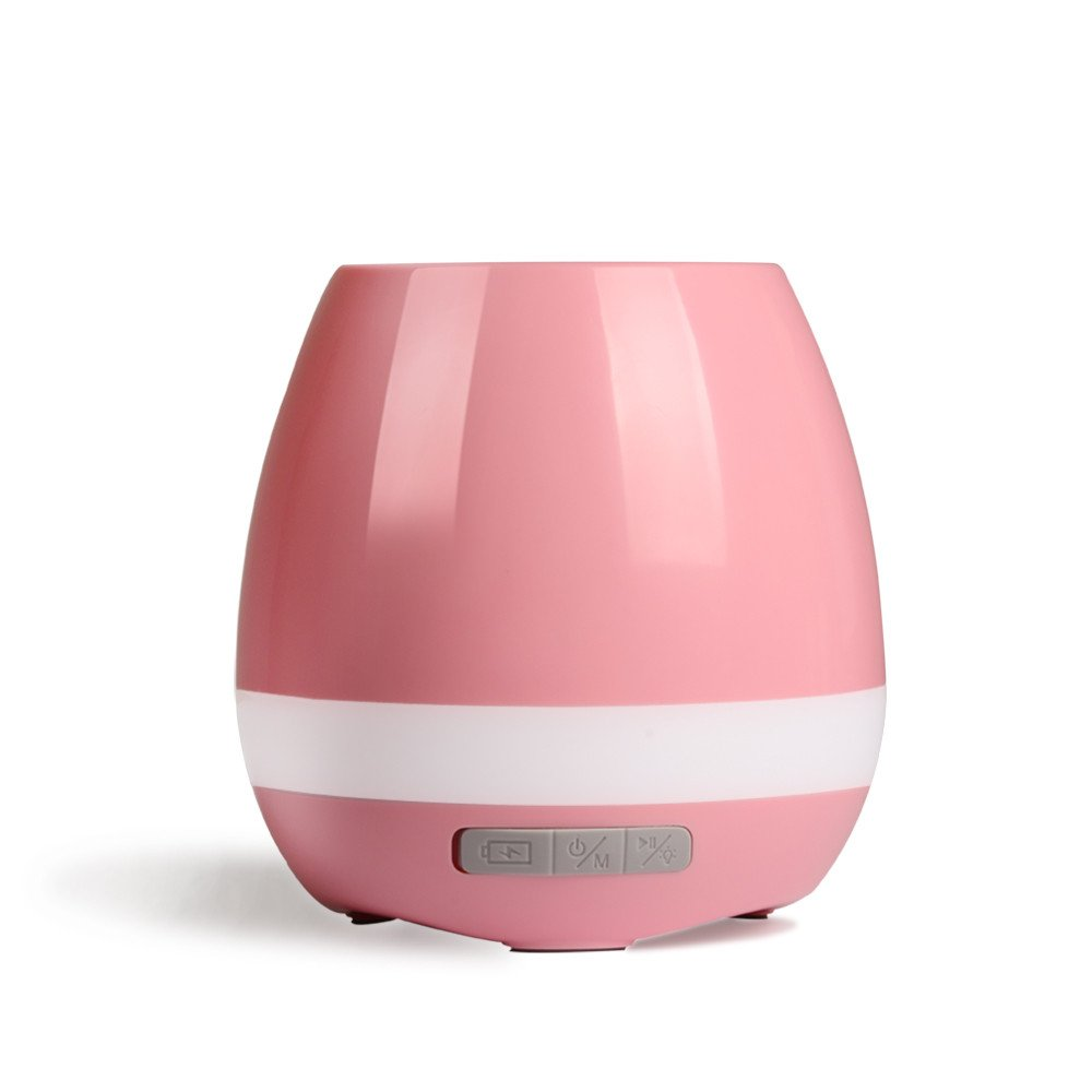 Умный музыкальный горшок для цветов Smart Music Flowerpot, розовый