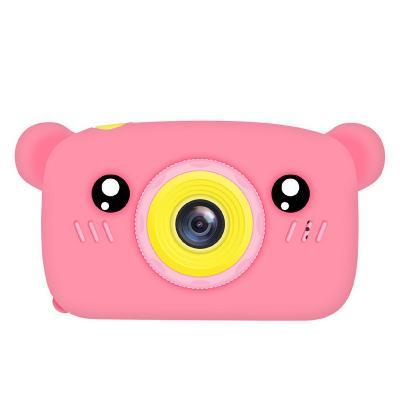 Купить Детский фотоаппарат Мишки Kids fun camera, розовый, Электронные игрушки