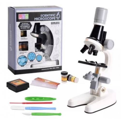 Настольный детский микроскоп Scientific Microscope, цвет микс