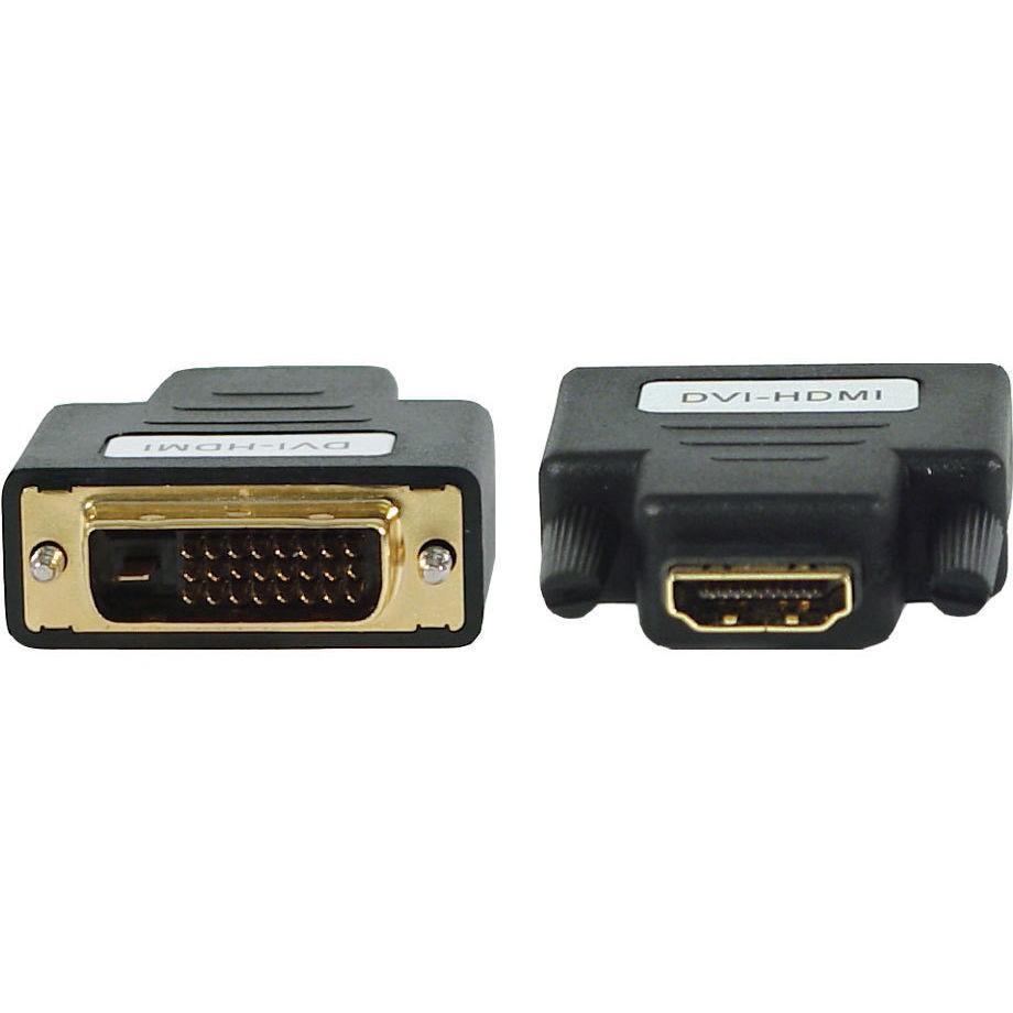 Переходник c DVI-D на HDMI, черный