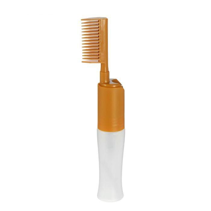 Расческа-дозатор для окрашивания волос, 80 млОстальные мелочи<br>Любите эксперименты с краской для волос? Если вы не готовы платить большие деньги за простую процедуру в салоне красоты, то теперь сможете с легкостью справиться с задачей в домашних условиях. Вам поможет удобная и компактная расческа-дозатор для окрашивания волос!<br>