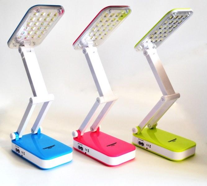 Настольная светодиодная лампа-трансформер Top Well, цвет микс