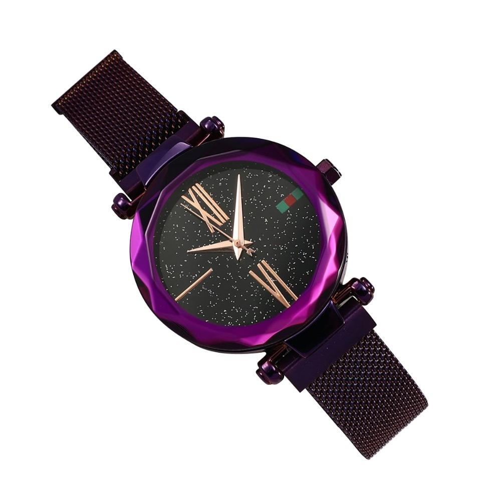 Женские наручные часы Starry Sky Watch, фиолетовый