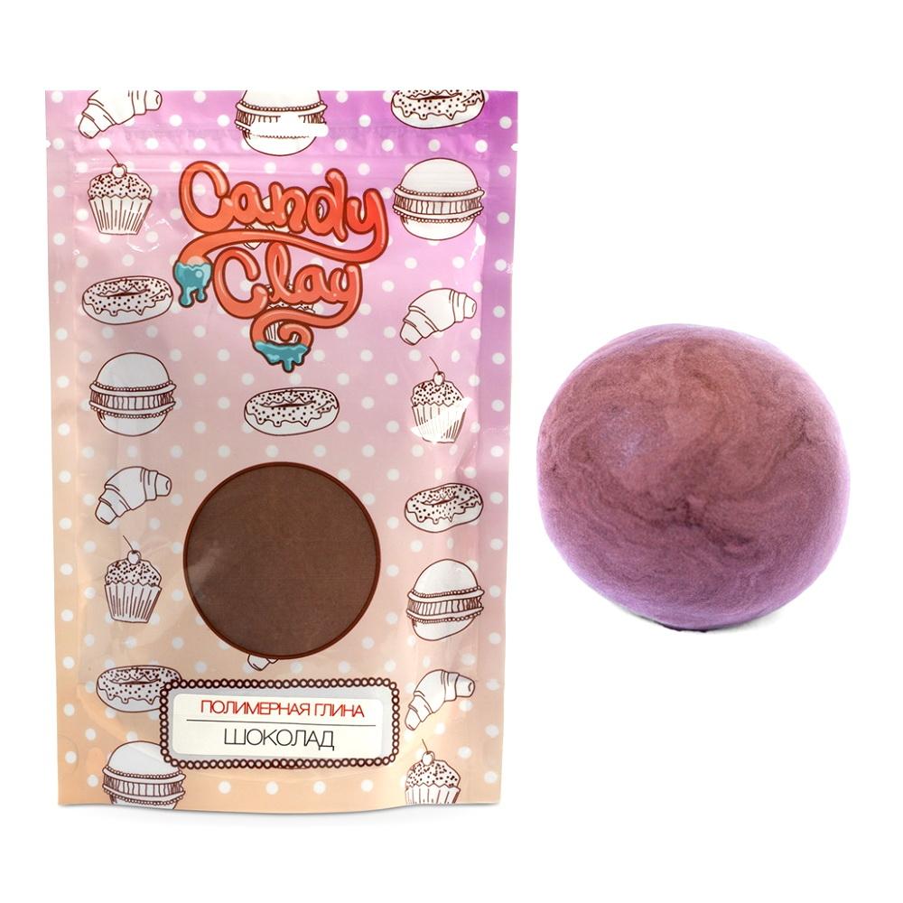 Масса для лепки. Полимерная кондитерская глина - Candy Clay, 100 гр, в ассортименте, шоколад