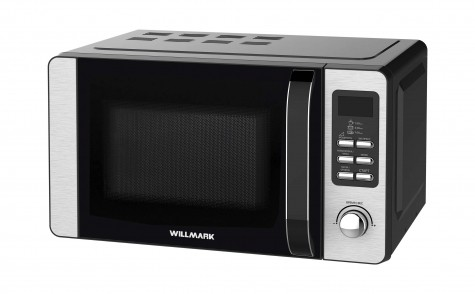Микроволновая печь WILLMARK WMO-208DHF (без поворотного столика,20л,700Вт,эл.ПУ,руч.д/отк.дв.,черн.)