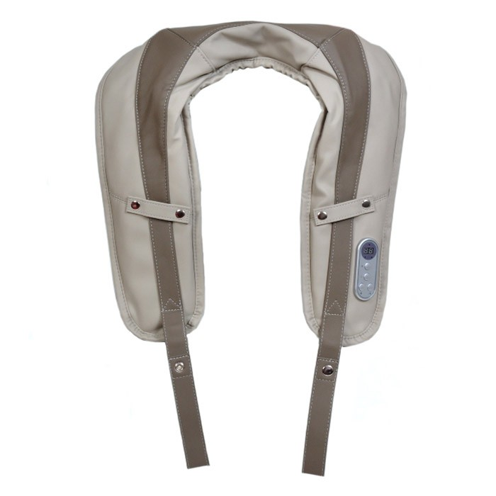 Массажная накидкаЗдоровая спина BRADEXМассажеры для шеи<br>Вибрационный массажер-накидка на грудо-плечевой и пояснично-крестцовый отдел. Используют для интенсивного и релаксирующего массажа в любой зоне тела после рабочего дня, физического труда и спортивных тренировок.<br>