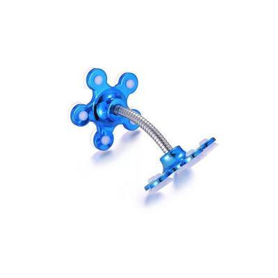 Гибкий держатель телефона на присосках Magic Suction Cup Phone Bracket, синий