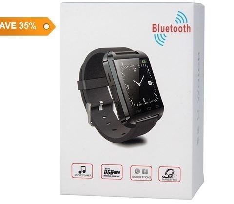 Универсальные bluetooth часы wt60