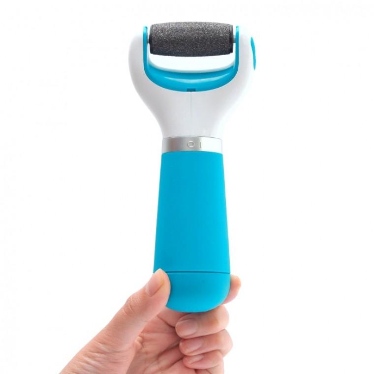 Электрическая роликовая пилка для педикюраОтшелушиватели пяток<br>Популярная электрическая роликовая пилка для ухода за кожей ступней ног - по доступной цене. В комплекте - дополнительный сменный ролик для окончательной шлифовки.<br>