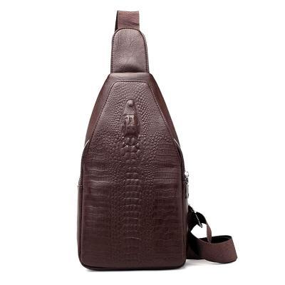 Мужская сумка Alligator, коричневый