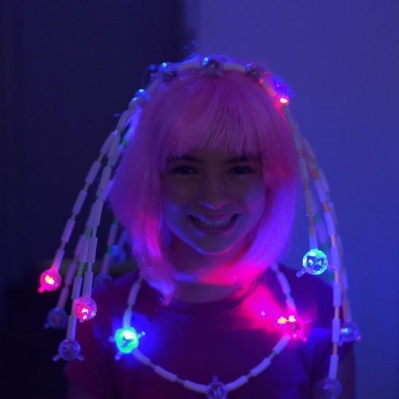 Детский светящийся конструктор Light up Links от MELEON