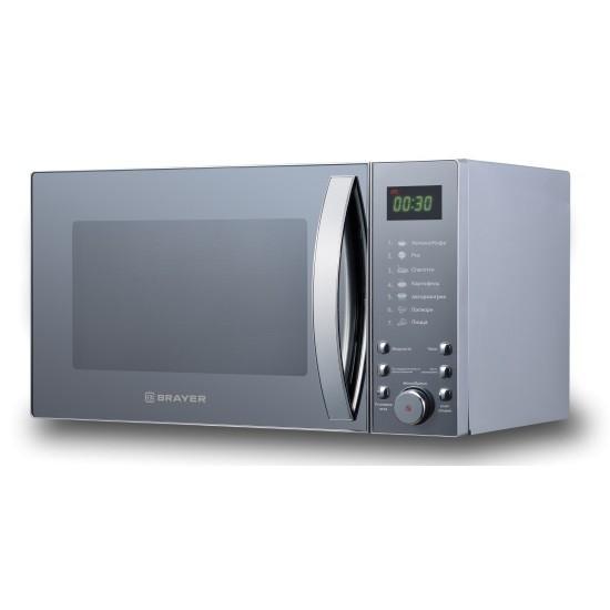 Микроволновая печь Brayer BR2504, 900 Вт, 25 л, цифровое управление, 7 режимов