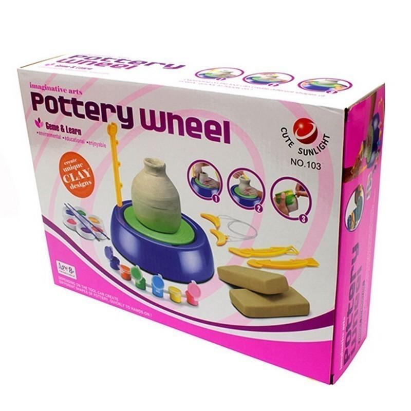 Купить Игровой набор Гончарный круг Pottery Wheel, цвет микс, Развивающие игрушки