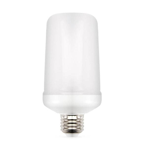 Огненная лампа - лампа с имитацией пламени, датчик гравитации, 9w, E27, белая