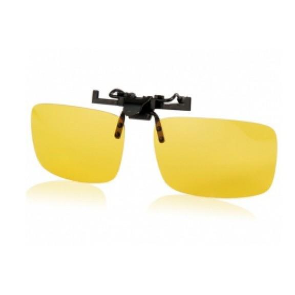 Антибликовые очки для водителей Night View Clip Ons от MELEON