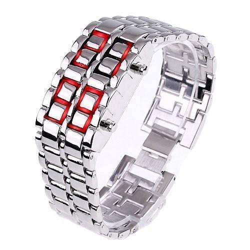 Часы Самурай - Iron SamuraiСпортивные LED часы<br>Если вы ломаете голову над выбором презента мужчине, который просто обожает стильные украшения, то просто обязаны купить часы Самурай - Iron Samurai. Это изделие сочетает в себе уникальный стиль и высокие технологии.<br>