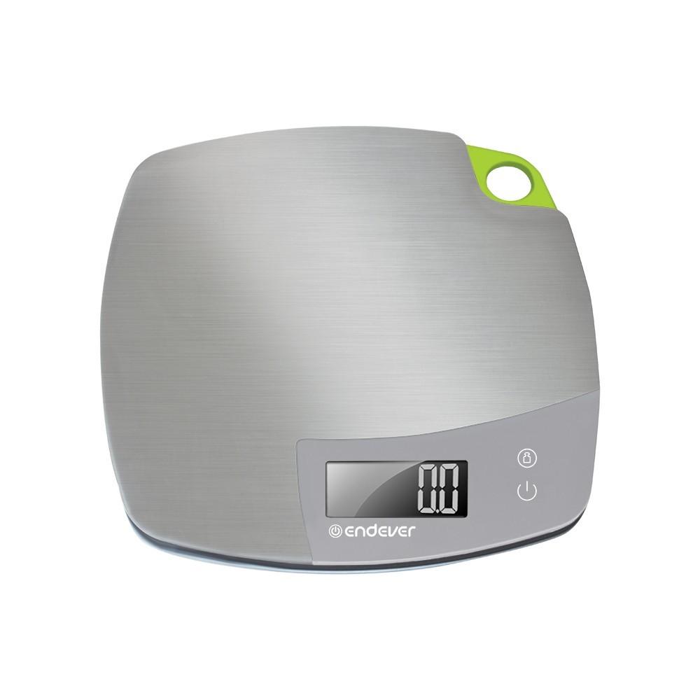 Весы кухонные электронные Endever Skyline KS-524Кухонные весы<br>Кухонные электронные весы Endever Skyline KS-524 - незаменимые помощники современной хозяйки. Они помогут точно взвесить любые продукты и ингредиенты. Кроме того, позволят людям, соблюдающим диету, контролировать количество съедаемой пищи и размеры порций. Предназначены для взвешивания продуктов с точностью измерения 1 г.<br>