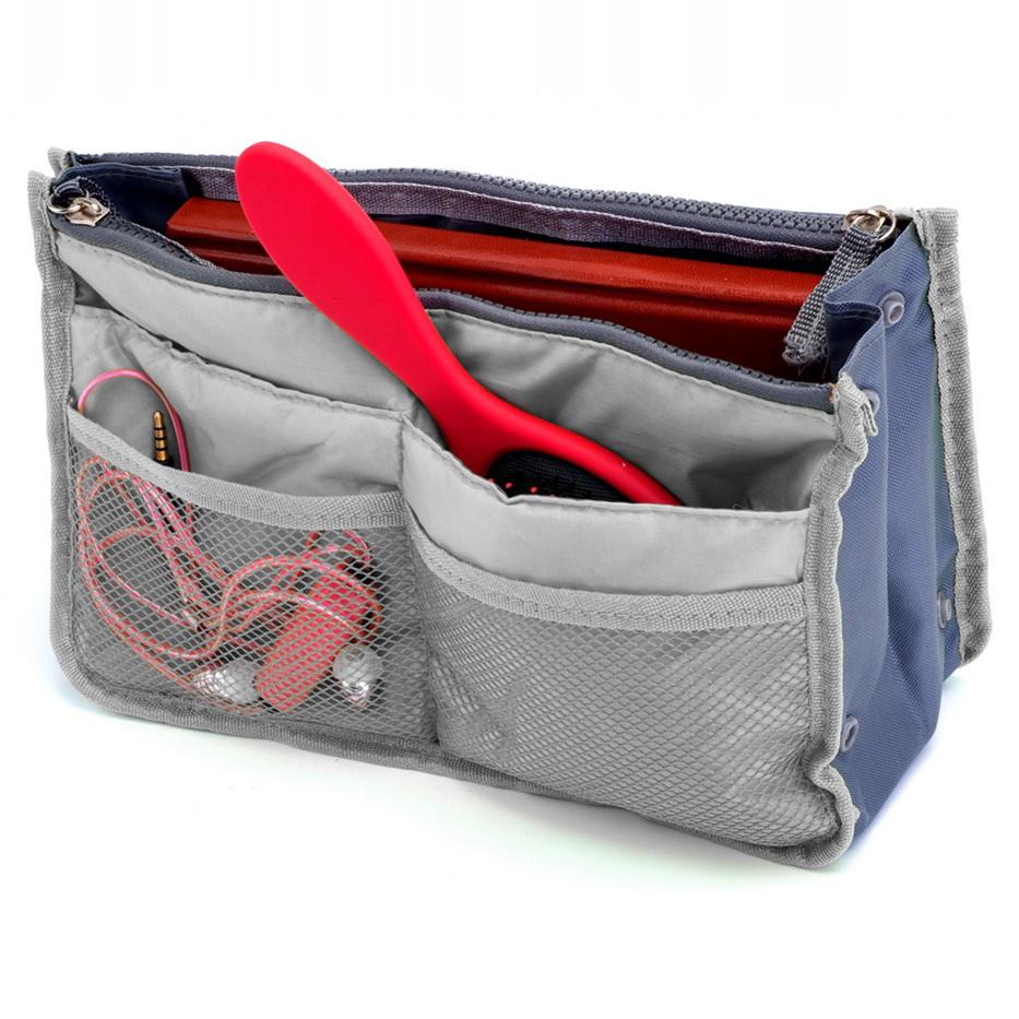 Органайзер для сумки - Сумка в сумке, серый