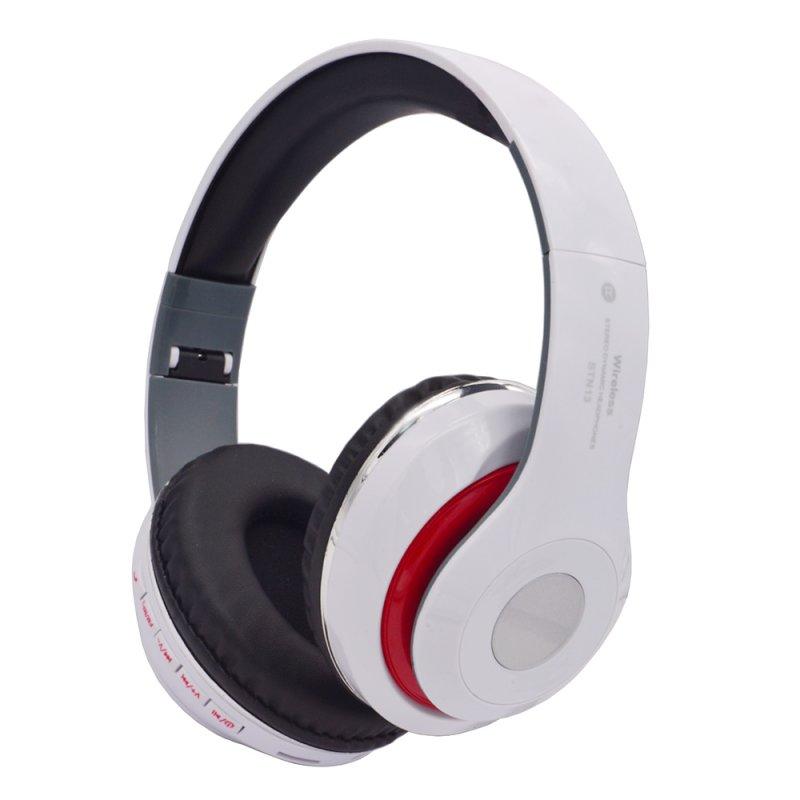 Bluetooth гарнитура «LP» накладная STN13 (белая/коробка)