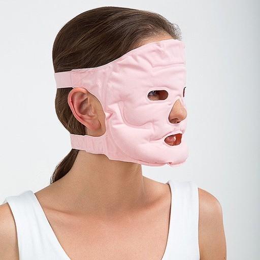 Турмалиновая маска для лица — розовая