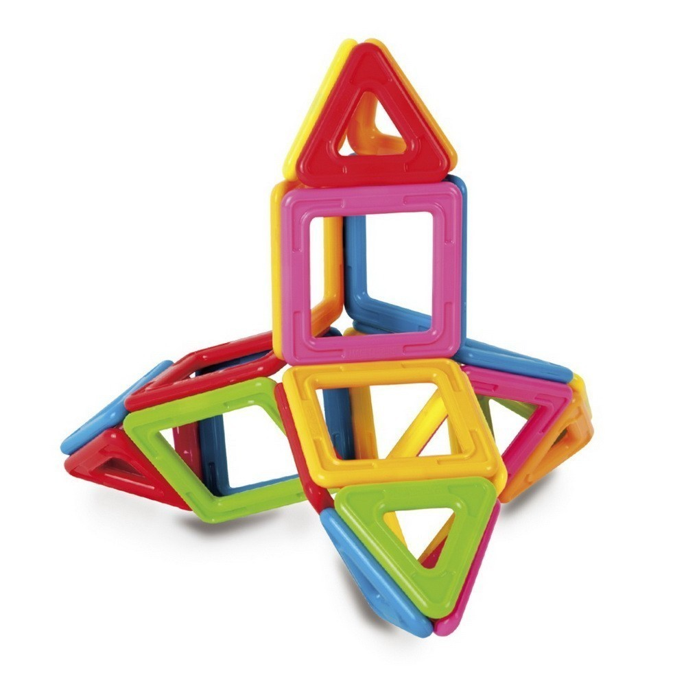 Магнитный конструктор, 30 деталейМагнитные конструкторы<br>Ваш малыш увлекается конструкторами? Если вы хотите подарить ребенку море положительных эмоций и возможность развиваться, то Посмотрите.магнитный конструктор (30 деталей), который заметно выделяется на фоне других наборов!<br>
