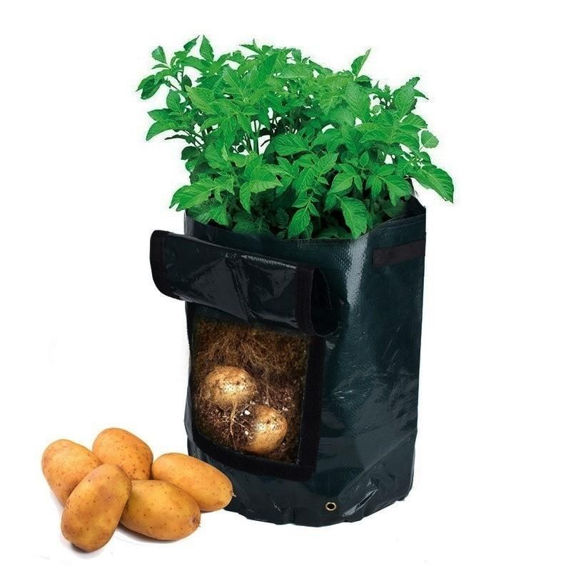 Сумка для выращивания картофеля/овощейОстальное для дачников<br>Всегда мечтали выращивать домашнюю картошку, но не готовы тратить кучу времени и усилий на борьбу с сорняками, вредителями, на окучивание и другие сложные задачи? Спешите познакомиться с революционной сумкой для выращивания картофеля и других овощей. Это многоразовое изделие предлагает вам взглянуть с другой, более приятной, стороны на садоводство!