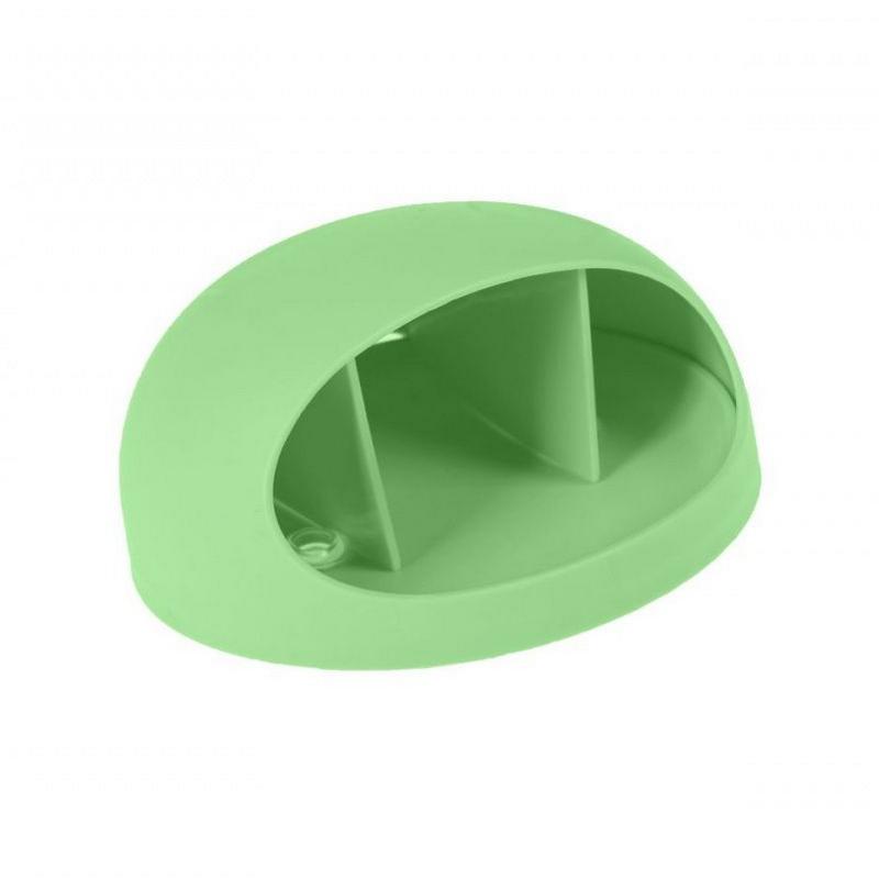 Держатель настенный универсальный, зелёный