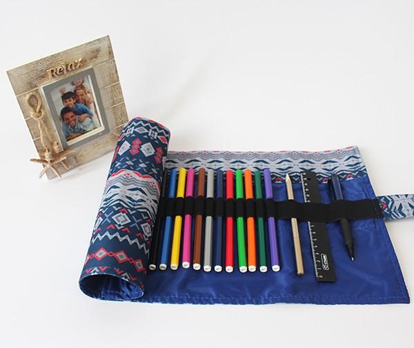 Купить Пенал корпусный для письменных принадлежностей Pencil Case Tuba, Геометрия 2, Для рисования