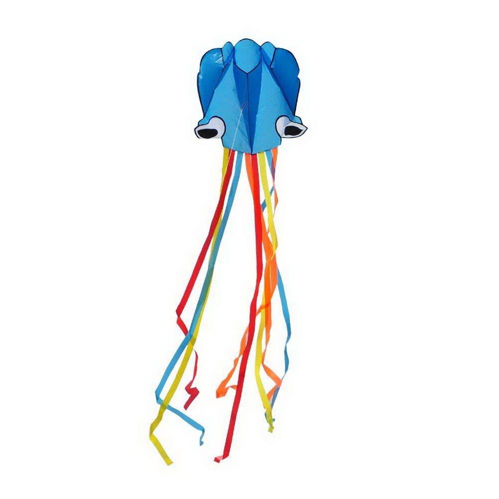 Воздушный змей — Осьминог, голубой