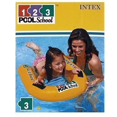 Плотик надувной Pool School 81x76см от 4летДля отдыха на воде<br>Очень быстро научиться плавать поможет надувной плот. Держась за него, ребенок быстрее почувствует, как следует управлять своим телом в воде.<br>