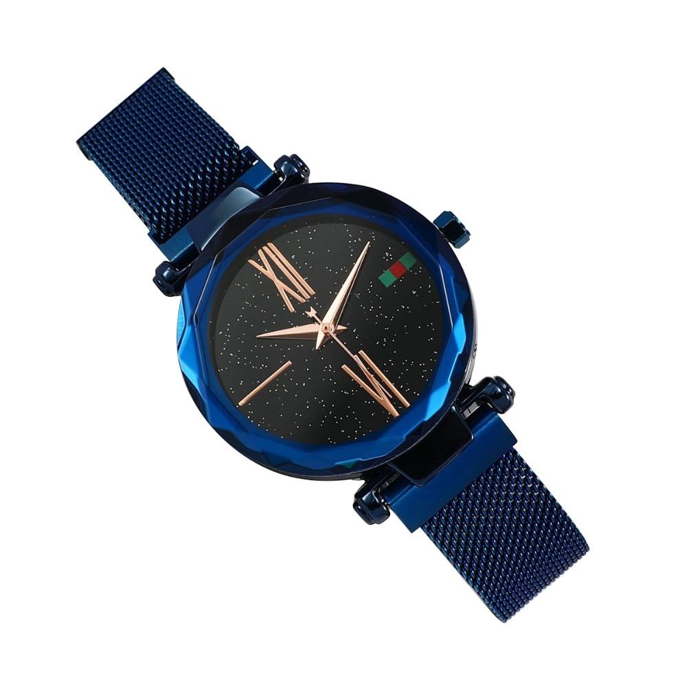 Женские наручные часы Starry Sky Watch, синий