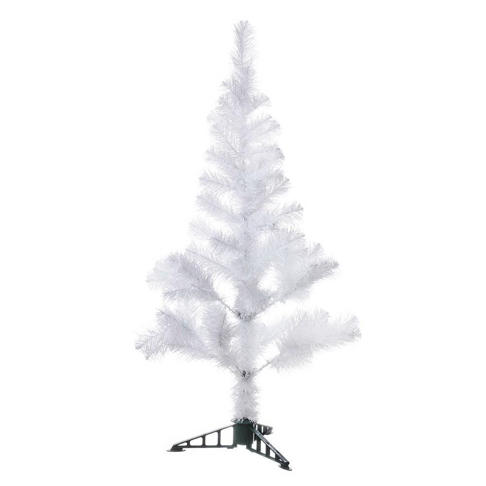 Новогодняя елка белая, 1,5 м фото
