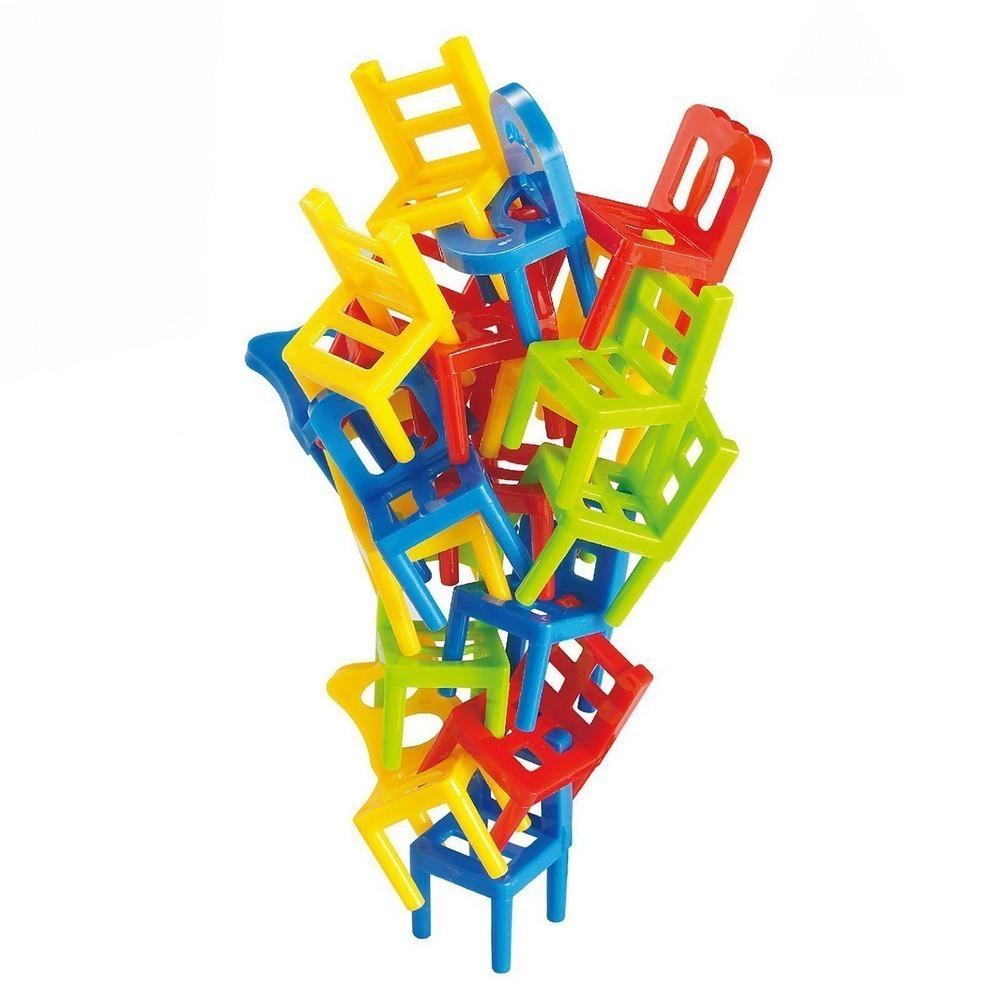 Настольная игра - На 4 ногах (Балансирующие стулья), Настольные игры  - купить со скидкой