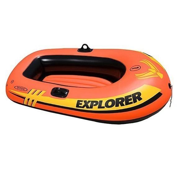 Лодка Explorer 100 одноместная до 55 кг, 147х84х36 см, от 6 летДля отдыха на воде<br>Explorer 100 – отличный выбор для юных капитанов и хрупких барышень. Если вы решили научить своих детей судоходству или ваша девушка независимая натура, это ваш вариант! Данная лодка одноместна и выдерживает вес до 55 кг.<br>