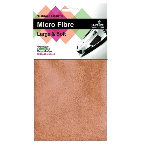 Чистящая салфетка Микрофибра Large&Soft