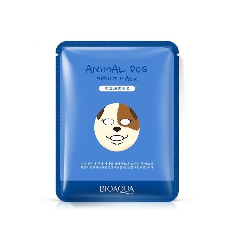 Питательная маска для лица BioAqua Animal Face Dog