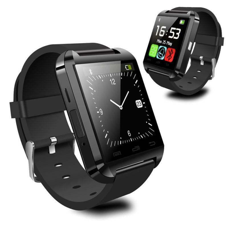 Умные часы smartwatch U8 - черныйУмные Smart часы<br>Многофункциональные «умные» часы Smart Watch U8 – эффективное дополнение вашего смартфона. «Начинка» на 90% идентична с более именитыми собратьями, как iWatch, но по приятной цене для российского покупателя. Синхронизируется со всеми телефонами на базе Android и поддерживает iOS. Имеет собственную прошивку. Мультиязычная версия.<br>