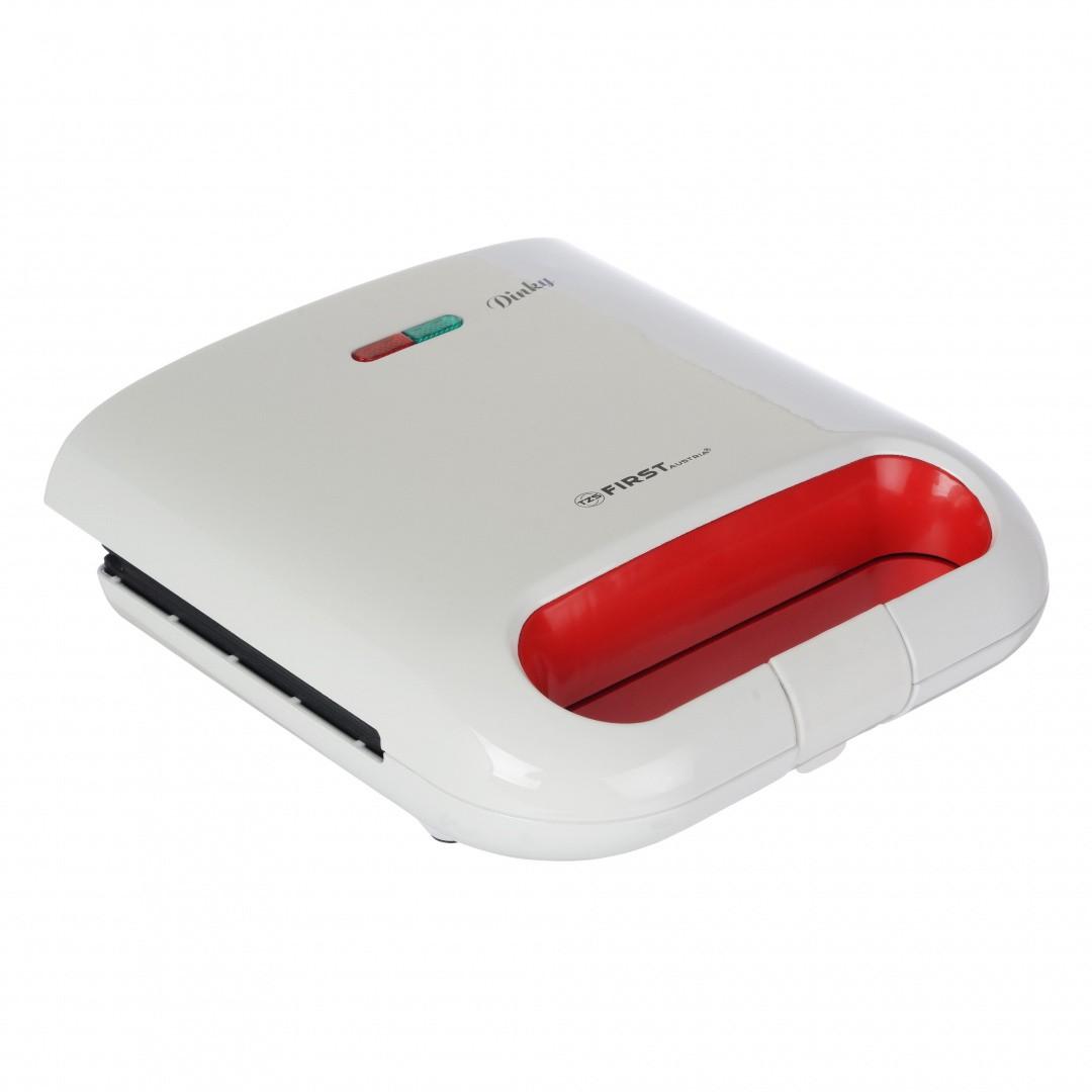 Сэндвичница FIRST, 800 Вт Пластины с антипригарным покрытием FA-5338-5 White фото